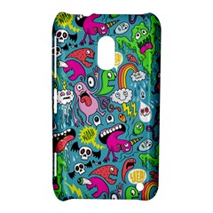 Monster Party Pattern Nokia Lumia 620