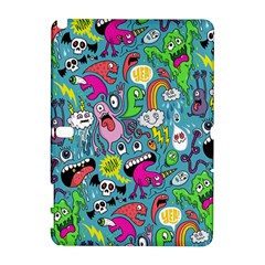 Monster Party Pattern Galaxy Note 1