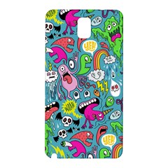 Monster Party Pattern Samsung Galaxy Note 3 N9005 Hardshell Back Case