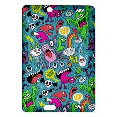 Monster Party Pattern Amazon Kindle Fire HD (2013) Hardshell Case