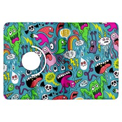 Monster Party Pattern Kindle Fire HDX Flip 360 Case