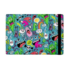 Monster Party Pattern Ipad Mini 2 Flip Cases
