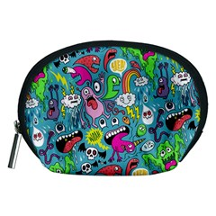 Monster Party Pattern Accessory Pouches (medium)