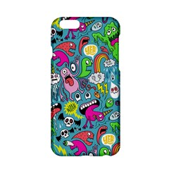 Monster Party Pattern Apple iPhone 6/6S Hardshell Case