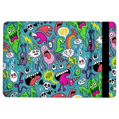 Monster Party Pattern iPad Air 2 Flip