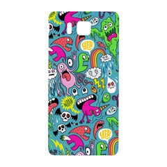 Monster Party Pattern Samsung Galaxy Alpha Hardshell Back Case