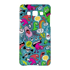 Monster Party Pattern Samsung Galaxy A5 Hardshell Case