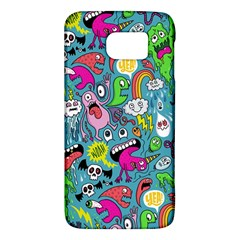 Monster Party Pattern Galaxy S6