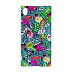 Monster Party Pattern Sony Xperia Z3+