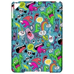 Monster Party Pattern Apple Ipad Pro 9 7   Hardshell Case