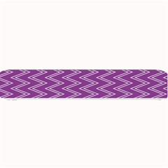 Zig Zag Background Purple Small Bar Mats