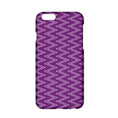 Zig Zag Background Purple Apple Iphone 6/6s Hardshell Case