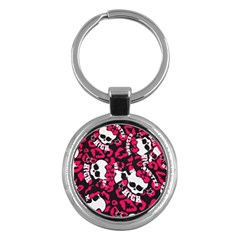 Mattel Monster Pattern Key Chains (Round)