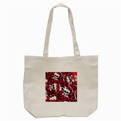 Mattel Monster Pattern Tote Bag (cream)