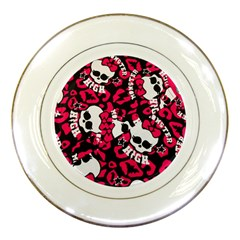 Mattel Monster Pattern Porcelain Plates