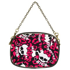 Mattel Monster Pattern Chain Purses (two Sides)
