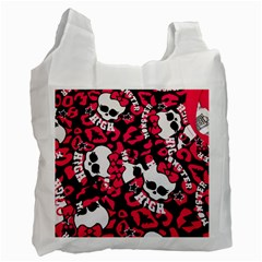 Mattel Monster Pattern Recycle Bag (Two Side)