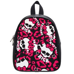 Mattel Monster Pattern School Bags (Small)