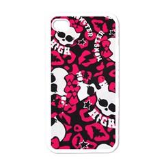 Mattel Monster Pattern Apple Iphone 4 Case (white)