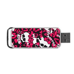 Mattel Monster Pattern Portable USB Flash (One Side)