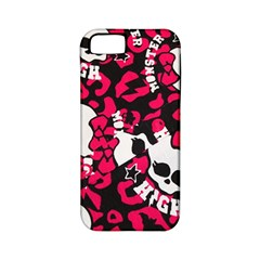 Mattel Monster Pattern Apple Iphone 5 Classic Hardshell Case (pc+silicone)