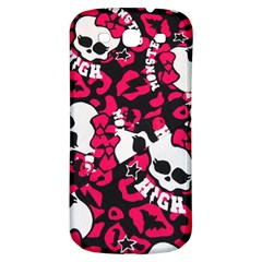 Mattel Monster Pattern Samsung Galaxy S3 S III Classic Hardshell Back Case