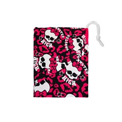 Mattel Monster Pattern Drawstring Pouches (Small)