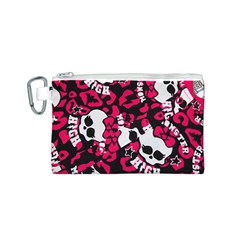 Mattel Monster Pattern Canvas Cosmetic Bag (s)
