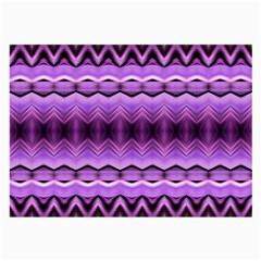 Purple Pink Zig Zag Pattern Large Glasses Cloth (2 Side)