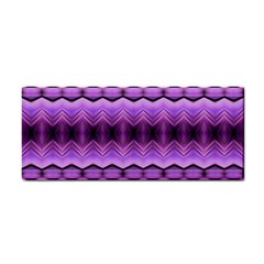 Purple Pink Zig Zag Pattern Cosmetic Storage Cases