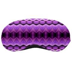 Purple Pink Zig Zag Pattern Sleeping Masks
