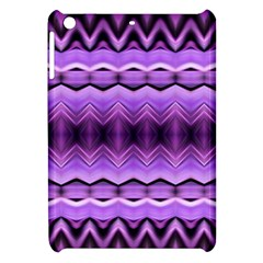 Purple Pink Zig Zag Pattern Apple iPad Mini Hardshell Case
