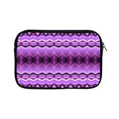 Purple Pink Zig Zag Pattern Apple iPad Mini Zipper Cases