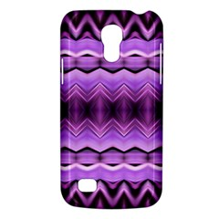 Purple Pink Zig Zag Pattern Galaxy S4 Mini