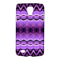 Purple Pink Zig Zag Pattern Galaxy S4 Active