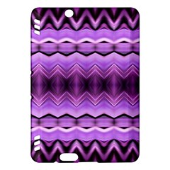 Purple Pink Zig Zag Pattern Kindle Fire HDX Hardshell Case