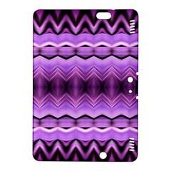 Purple Pink Zig Zag Pattern Kindle Fire HDX 8.9  Hardshell Case