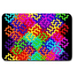 3d Fsm Tessellation Pattern Large Doormat