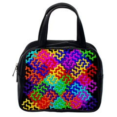 3d Fsm Tessellation Pattern Classic Handbags (One Side)