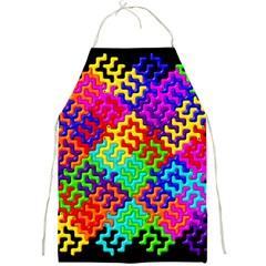 3d Fsm Tessellation Pattern Full Print Aprons