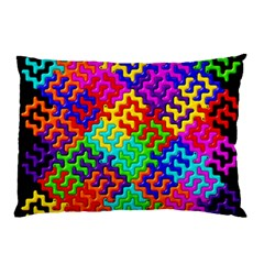 3d Fsm Tessellation Pattern Pillow Case (two Sides)