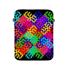 3d Fsm Tessellation Pattern Apple Ipad 2/3/4 Protective Soft Cases