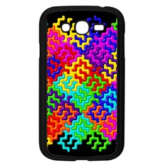 3d Fsm Tessellation Pattern Samsung Galaxy Grand Duos I9082 Case (black)