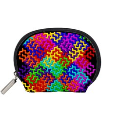 3d Fsm Tessellation Pattern Accessory Pouches (small)