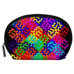 3d Fsm Tessellation Pattern Accessory Pouches (Large)