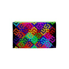 3d Fsm Tessellation Pattern Cosmetic Bag (xs)