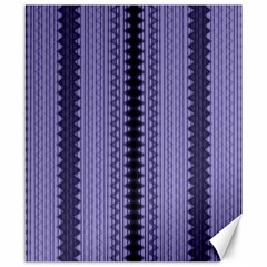 Zig Zag Repeat Pattern Canvas 8  X 10