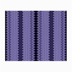 Zig Zag Repeat Pattern Small Glasses Cloth (2 Side)