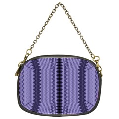 Zig Zag Repeat Pattern Chain Purses (two Sides)