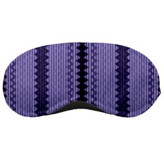 Zig Zag Repeat Pattern Sleeping Masks